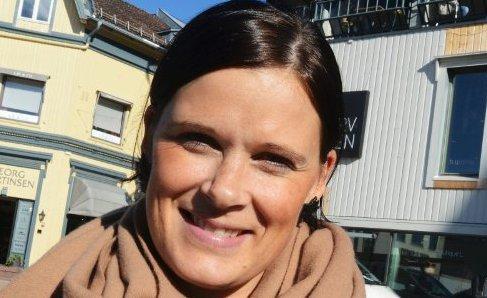 Cecilie B. Sørumshagen, daglig leder Tønsberg Sentrum.