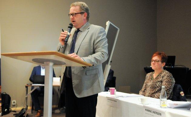 TAKKET AV: Thorfinn Haugen har de siste ti årene vært styreleder, men tirsdagens kretsting var hans siste.