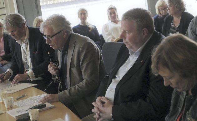 Unnskyldte seg: Rådmann Ole Petter Finess beklaget Fredrikstad kommunes reaksjoner mot varslerne og sa at han aldri hadde til hensikt å skade noen. Men innholdet i rapporten fra pwc er så alvorlig at han neppe kan bli sittende som rådmann. Foto: Øivind Lågbu