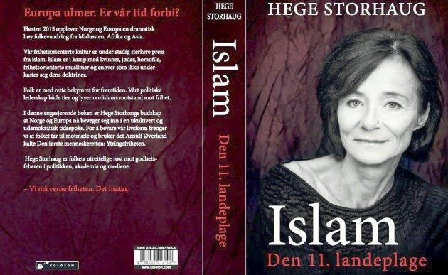 OMSTRIDT BOK: – Jeg håper at de som kommenterer denne boka, i det minste har lest den, skriver Hans-Petter Hermansen.