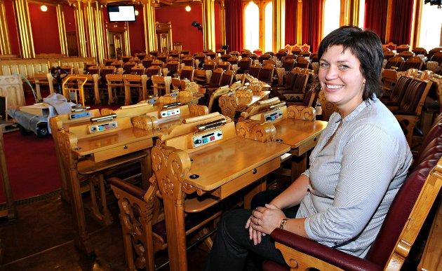 VALGT i 2009: Laila Gustavsen (Ap) er siste fra Kongsberg som er valgt inn på Stortinget.