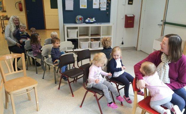 Ebbestad barnehage: Det har deltatt i Trygghetssirkelen. Nå skal alle barnehagene i kommunen inn i denne.  foto privat