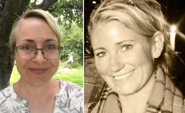 HEKTISK: Sykepleierne Elisabeth Romark (til venstre) og Elisabeth Sæther gir oss innblikk i en travel lørdag på legevakta.
