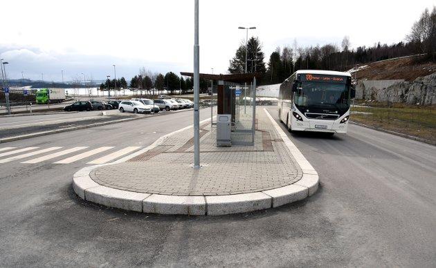 Grønt: Grønne, kollektive transportløsninger skal styrke Mjøsbyen.Arkivfoto: Knut Storvik