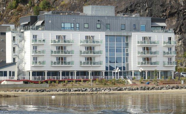 Stengte 12. november: Holmestrand fjordhotell har vært koronastengt i mer enn tre måneder. Foto: Pål Nordby
