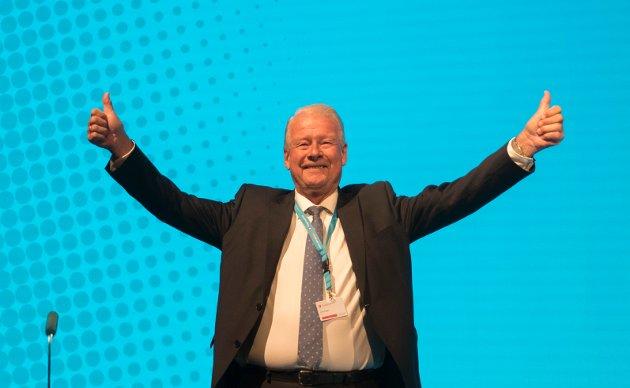 TOPP?: Carl I. Hagen har sagt ja til å stille som førstekandidat for FrP i Oppland foran stortingsvalget.