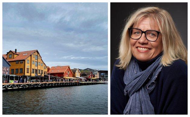 MANGEL PÅ SJØGLØTT: Det går en kule varmt om dagen i Tønsberg, mener spaltist Lene Lauritsen Kjølner.