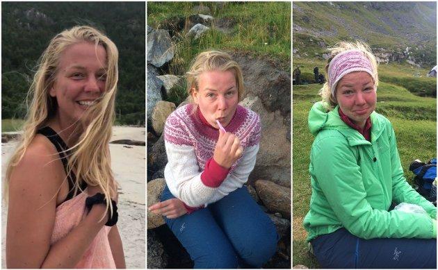 NORGESFERIE: Instagram bugner over av Norgesferie-bilder som gir et noe glorifisert bilde av livet til fjells. La oss bli enige om at det ikke er helt sånn det er. Foto: Privat