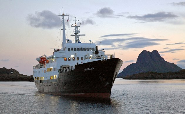 MS «Lofoten» har gått mellom Bergen og Kirkenes i 55 år. (Lisens: Creatve Commons Attribution-NoDerivs 2.0 Generic)