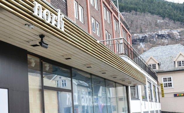 Norli: En av flere butikker som har poppet opp i sentrum det siste året.