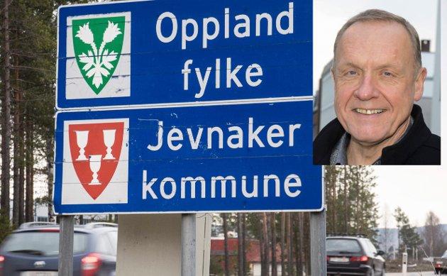 GIR SVAR: Ordfører Lars Magnussen (Ap) i Jevnaker svarer på spørsmål om regionreformen.