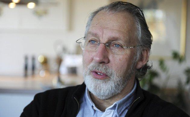 IKKE IMPONERT: Carl-Erik Grimstad mener ansvarlig redaktør Sigmund Kydland bedriver mindre klok journalistikk.