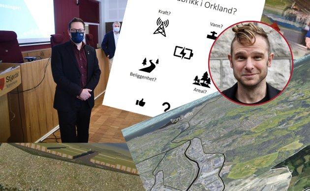 Er det noen som i fullt alvor tror at Trøndelags sjanser for å huse batterifabrikken blir større av at hver eneste kommune sitter på hver sin tue og spikrer sine egne opplegg, spør politisk redaktør i Nidaros, Snorre Valen.