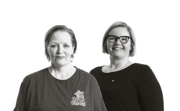 At tennene skal være en del av kroppen og gå inn under en lignende refusjonsordning og egenandelsordning som helsen ellers, er en sak som ligger nært våre hjerter, skriver Else Birgitte Seker og Hanne Lise Fahsing fra Rødt.