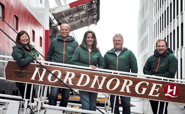 Siv Mossleth, Trygve Slagsvold Vedum, Trine Fagervik, Hans Gunnar Holand og Willfred Nordlund er alle stortingskandidater for Senterpartiet som vil satse i nord.