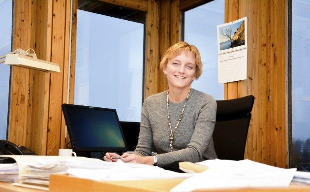 NY MOTIVASJON: Rådmann Aud Norunn Strand i Modum skriver i denne kronikken at resultatene av Kommunebarometeret gir henne og staben motivasjon til å arbeide hardt videre.