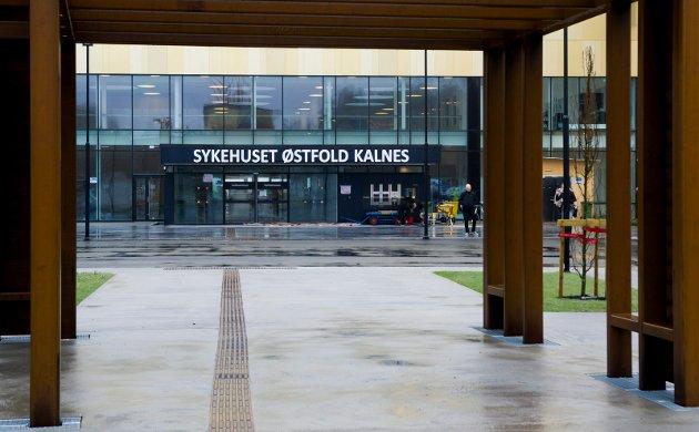 Sykehuset Østfold Kalnes, står snart klart til å bli tatt i bruk.
