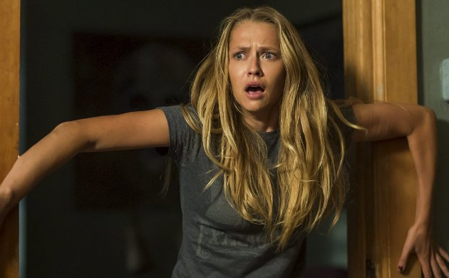 Gode grøss: «Lights Out» bør du ikke se alene i mørket.Foto: filmweb.no