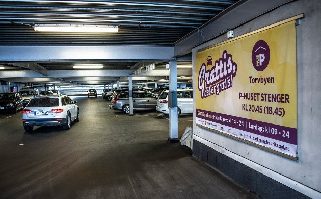 Cityterminalen parkeringshus.
