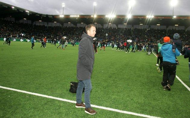 BOMMET: Sportsansvarlig Henning Danielsen mener Espen Nystuen overvurderte KIL-stallen inn mot seriestart.
