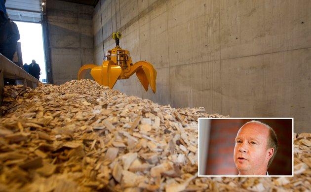 Stortingsrepr. Ketil Kjenseth (V) er bekymret over at det i Gudbrandsdalen, med store bioenergiressurser,  er bygd få fjernvarmeanlegg.