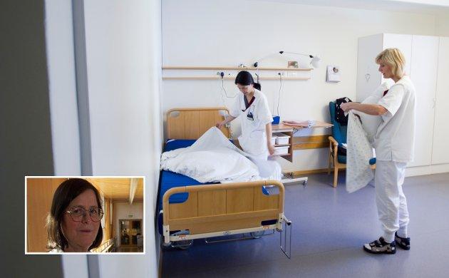 KYNISME: Helse blir kynisk prioritert ned blant eldre som er blitt mindre verdt – eller mindreverdige for samfunnet – også i Innlandet, skriver Bjørg Marit Andersen.