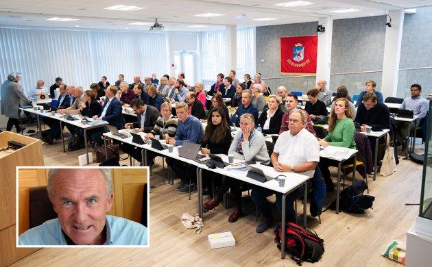 AVVIK: Høyre-politiker og tidligere rådmann i Lillehammer, Bjørgulv Noraberg, spør om kommunelovens bestemmelser blir fulgt av Lillehammer kommune i valg av utvalg og debatt om nytt budsjett.
