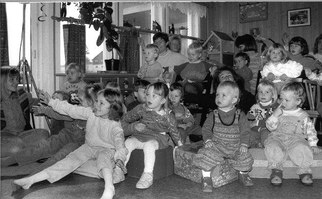 Røysum barnehage i 1993.