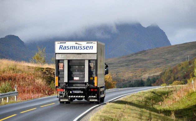 1,250 milliarder kroner er satt av til Veipakke Lofoten mellom Fiskebøl og Nappstraumtunnelen.