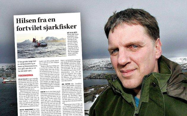 Erling Hansen er fisker av yrke og vet hva han snakker om. Tenk om fiskeristatsråden hadde hett Erling Hansen! Det ville vært en trussel – ikke mot fiskeressursene – men mot de styrende byråkrater som «hals over hode» følger markedsideologien og som jakter på effektivitetsmålet; færrest mulige fiskere, fartøyer og sjøvær for å ta opp norske kvoter, skriver Geir Adelsten Iversen.