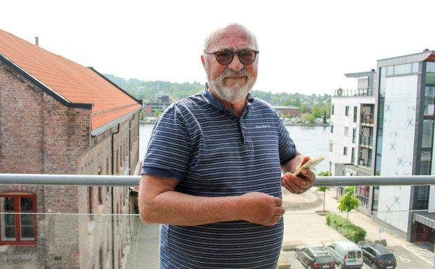 – SVÆRT UNDERLIG: Finn Morten Steen om at Vestsiden Fellesskap ikke har blitt kontaktet om etablering av bobilparkering på Vestsida.