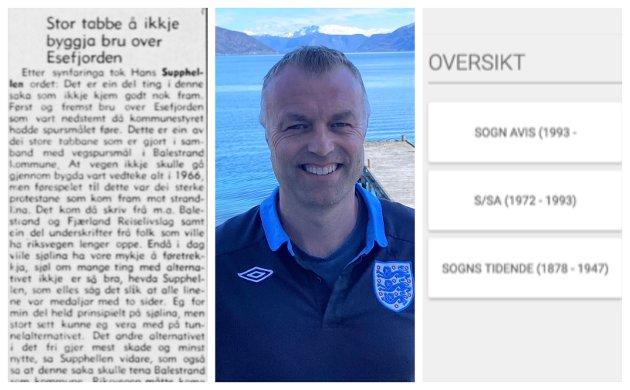 GULLOPPSKRIFT: Eirik Thue skriv om det digitale gullet, Esefjordbrua og det å bli Besten.