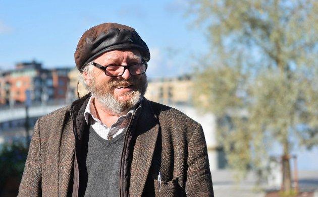 KOMMER: Erling Okkenhaug kommer til biblioteket torsdag kveld for å delta i debatten omkring Vikersund Nord.