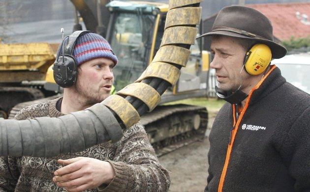 Joar Førde og Leif Einar Lothe gjer suksess med Fjorden Cowboys. Arkivfoto: Ole M. Kvamme