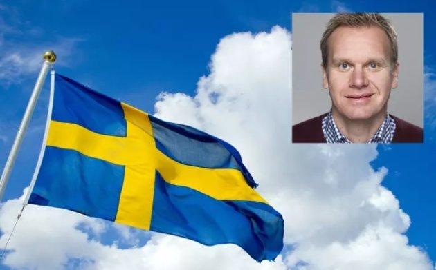 AVHENGIGHET: – En konsekvens av at markedsføringen har grepet om seg i Sverige, er at mediene har gjort seg avhengige av inntektene fra pengespillbransjen, skriver Stein Langberget i Norsk Tipping.