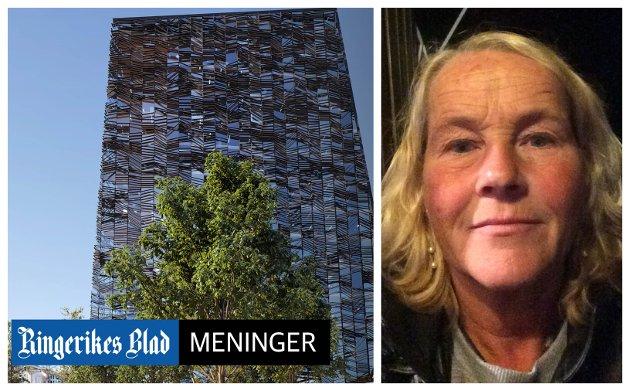 KRITISK: - Hvis vi vil bli en drabantby for Oslo, er den retningen man nå har valgt sikkert riktig, mener Anne Rønningsbakk.
