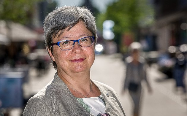 Monica Gåsvatn, Østfold Høyre. (Foto: Johnny Helgesen)
