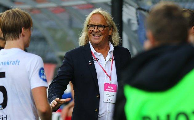GLER SEG: Rasmus Mo gler seg til fotballåret 2021, sjølv om fotballen ikkje alltid er retterferdig.