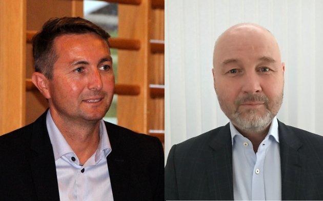 Anders S. Larsen og Øyvind Jonassen