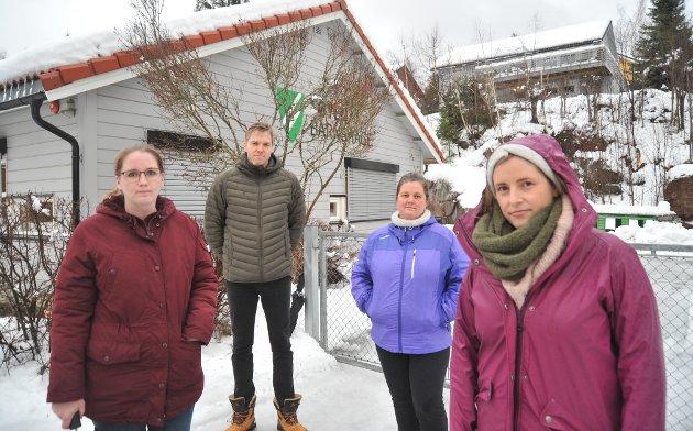 Foreldrerepresentantene i Tøyen barnehage; f.v. Christine Dalebråten, Eivind Ørum, Marita Pedersveen og Anne Marie Stenberg Hveding.