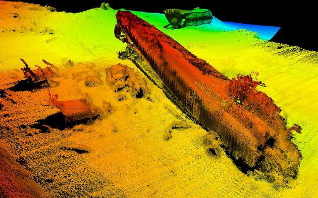 Den tyske ubåten U-864 ligg i ein skråning på 140 meters djup utanfor Fedje og inneheld store mengder kvikksølv.