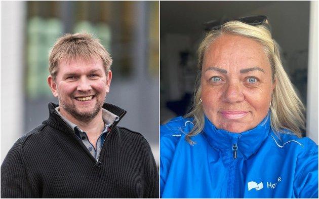Ivar Eide og Nina Kirca i Gulen Høgre meiner at dagens regjering blant anna har styrka næringslivet og gjeve oss meir valfridom.