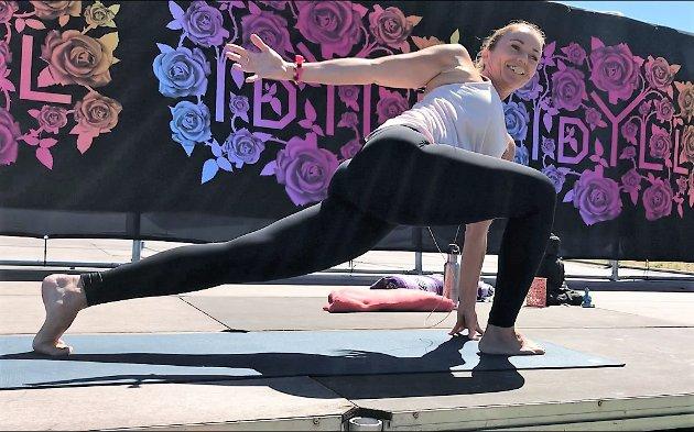IDYLL: Yogainstruktør Tova Lier