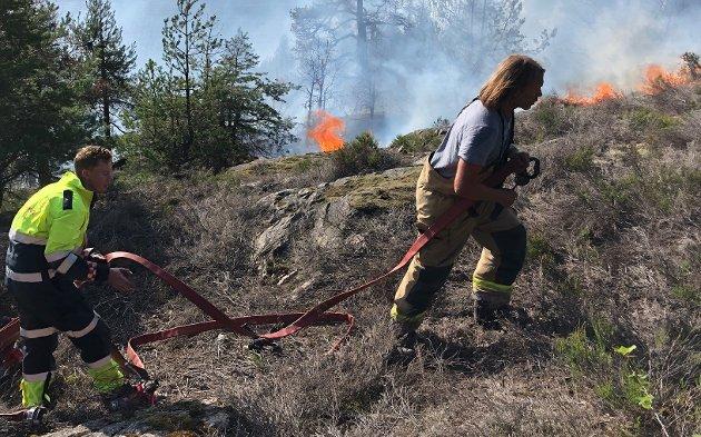 Etterlyser samarbeid: Konsekvensene kan utelukkende gi oss en bedre brannberedskap, mener Øistein Gjølber Karlsen.