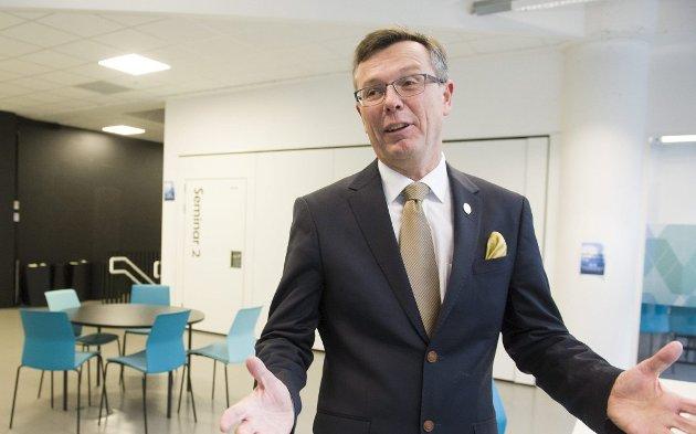 AKADEMISK TOPPLEDER: Dag Rune Olsen er ansatt som ny rektor ved Universitetet i Tromsø. Han er nå under granskning hos sin nåværende arbeidsgiver.