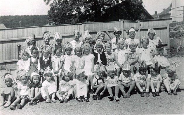 Barnehagen på Jægersborg skole 1943
