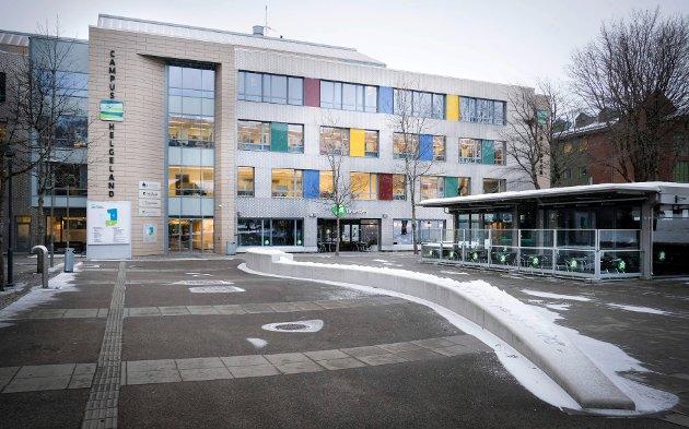 Campus Helgeland. Ingeniørstudiet forkurs. Iniversitetet i Tromsø. Norges arktiske universitet.