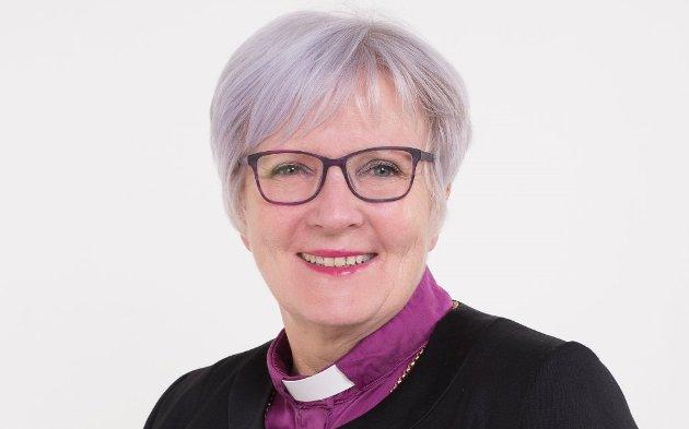 Biskop Ann-Helen Fjeldstad Jusnes.