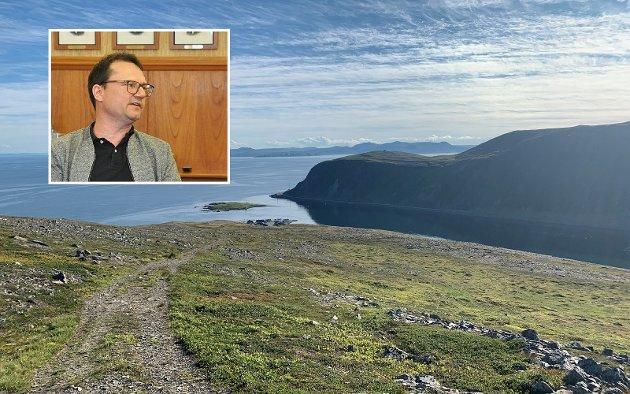 Jan Olsen, ordfører Nordkapp kommune.