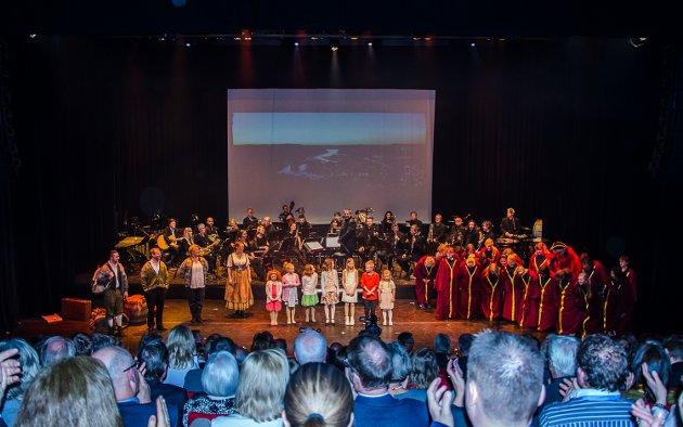 Jubileumsforestilling i Brygga Kultursal